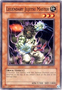 YuGiOh Ancient Sanctuary Single Card Common AST-017 Legendary Jujitsu Master