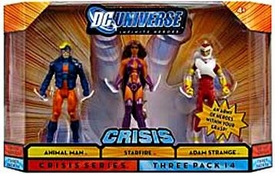 DC Universe Infinite Heroes Crisis Action Figure 3-Pack Animal Man, Starfire & Adam Strange