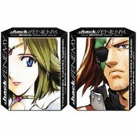 Dot .Hack//Enemy Trading Card Game Set of 2 Distortion Starter Theme Decks Terajima Ryoko & Sanjuro