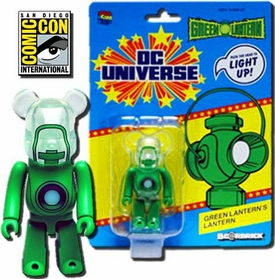Diamond Select SDCC 2011 San Diego Comic-Con Exclusive Figure Green Lantern Light-Up Bearbrick