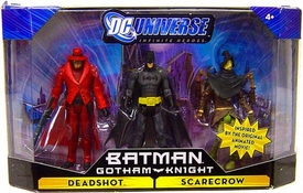 DC Universe Infinite Heroes Gotham Knight Action Figure 3-Pack Batman, Deadshot & Scarecrow