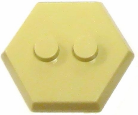 Catspaw Customs Tan 2-Stud MiniFig Hex Stand