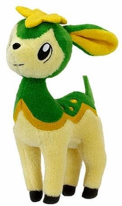 Pokemon Black & White Series 3 Mini Plush Green Deerling [Summer Form]