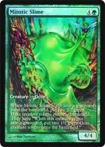 Magic the Gathering Other Promo Card Mitotic Slime [Magic 2011 Game Day]