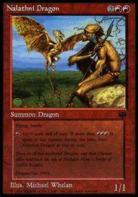 Magic the Gathering Other Promo Card Nalathni Dragon [Book Promo] Played Condition Not Mint