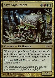 Magic the Gathering Other Promo Card Naya Sojourners [Magic Game Day Promo]