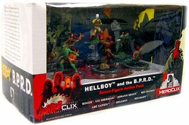 Wizkids Games Horrorclix 7 Figure Action Pack Collector's Set Hellboy and the B.P.R.D.