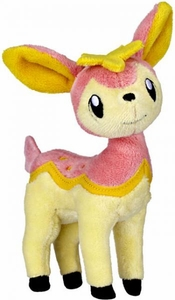 Pokemon Black & White Series 2 Mini Plush Pink Deerling [Spring Form]
