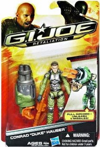 GI Joe Retaliation Movie 3.75 Inch Action Figure Conrad Duke Hauser [Pull Ripcord Unleash Missiles!]