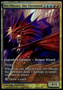 Magic the Gathering Other Promo Card Niv-Mizzet, the Firemind [Extended Art Foil]