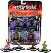 3D Trading Game Creepy Freaks Starter Set [Cartoon DVD Included]