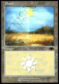 Magic the Gathering Other Promo Card Plains [Guru]