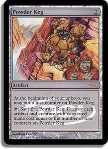 Magic the Gathering Other Promo Card Powder Keg [Player Rewards]