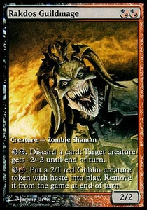 Magic the Gathering Other Promo Card Rakdos Guildmage [Champs Promo]