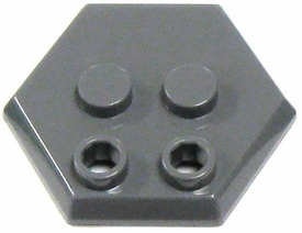 Catspaw Customs Dark Gray 4-Stud MiniFig Hex Stand
