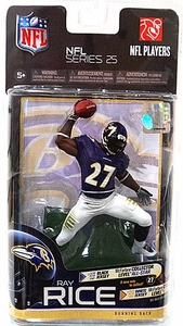 McFarlane Toys NFL Sports Picks Series 25 Action Figure Ray Rice (Baltimore Ravens)