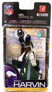 McFarlane Toys NFL Sports Picks Series 25 Action Figure Percy Harvin (Minnesota Vikings)