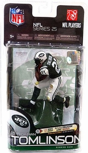 McFarlane Toys NFL Sports Picks Series 25 Action Figure LaDainian Tomlinson (New York Jets) Green Jersey