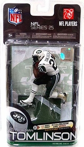McFarlane Toys NFL Sports Picks Series 25 Action Figure LaDainian Tomlinson (New York Jets) White Jersey Bronze Collector Level Only 3,000 Made!