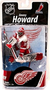 McFarlane Toys NHL Sports Picks Series 27 Action Figure Jimmy Howard (Detroit Red Wings) White Jersey Bronze Collector Level Chase Only 1,500 Made!