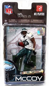 McFarlane Toys NFL Sports Picks Series 25 Action Figure LeSean McCoy (Philadelphia Eagles) White Jersey Bronze Collector Level Chase Only 1,500 Made!