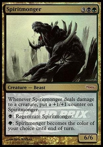Magic the Gathering Other Promo Card Spiritmonger [Grand Prix Promo]