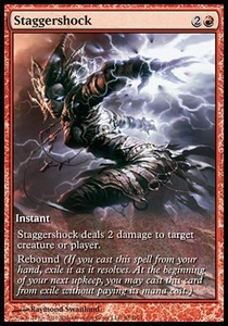 Magic the Gathering Other Promo Card Staggershock [Rise of the Eldrazi Game Day]