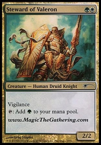 Magic the Gathering Other Promo Card Steward of Valeron [Media Promo]