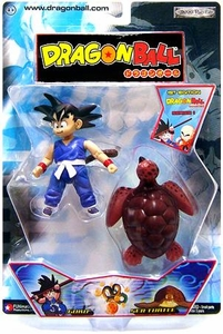 Dragon Ball Jakks Pacific Action Figure Goku & Sea Turtle