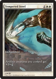 Magic the Gathering Other Promo Card Tempered Steel [Scars of Mirrodin Game Day]