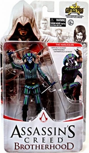 Assassin's Creed Brotherhood Gamestars 4 Inch Action Figure The Harlequin