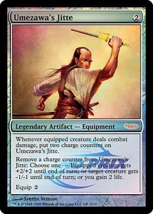 Magic the Gathering Other Promo Card Umezawa's Jitte [Grand Prix Foil]