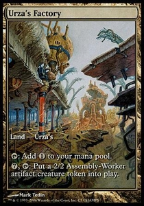 Magic the Gathering Other Promo Card Urza's Factory [Champs Promo]