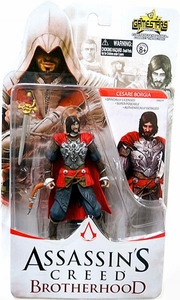 Assassin's Creed Brotherhood Gamestars 4 Inch Action Figure Cesare Borgia
