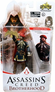 Assassin's Creed Brotherhood Gamestars 4 Inch Action Figure Leonardo da Vinci