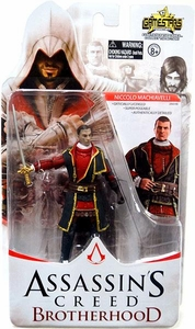 Assassin's Creed Brotherhood Gamestars 4 Inch Action Figure Niccolo Machiavelli