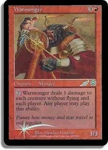 Magic the Gathering Other Promo Card Warmonger  [Book Promo]