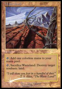 Magic the Gathering Other Promo Card Wasteland [Player Rewards]