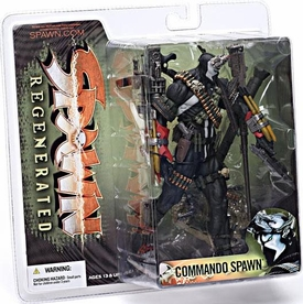 McFarlane Toys Spawn Series 28 Regenerated Action Figure Commando Spawn