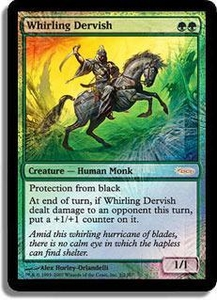 Magic the Gathering Other Promo Card Whirling Dervish [MSS Foil]