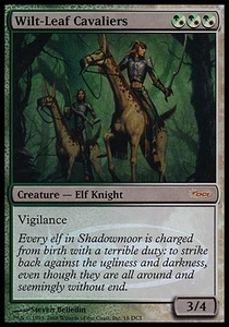 Magic the Gathering Other Promo Card Wilt-Leaf Cavaliers [Gateway Foil]