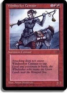 Magic the Gathering Other Promo Card Windseeker Centaur [Book Promo]