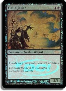 Magic the Gathering Other Promo Card Yixlid Jailer [Euro Promo]