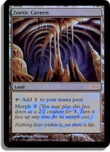 Magic the Gathering Other Promo Card Zoetic Cavern [Euro Promo]