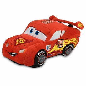Disney / Pixar CARS 2 Movie Exclusive 8 Inch Plush Toy Lightning McQueen