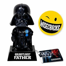 Star Wars Wacky Wisecrack Figure Darth Vader [Galaxy's Best Father]