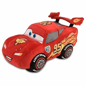 Disney / Pixar CARS 2 Movie Exclusive 13 Inch Deluxe Plush Figure Lightning McQueen