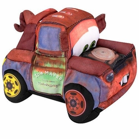Disney / Pixar CARS 2 Movie 5 Inch Talking Plush Crash Ems Mater