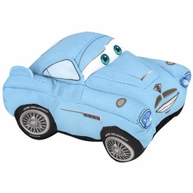 Disney / Pixar CARS 2 Movie 5 Inch Talking Plush Crash Ems Finn McMissile