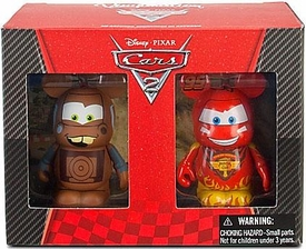 Disney / Pixar CARS 2 Movie Exclusive Vinylmation 2-Pack Lightning McQueen & Tow Mater